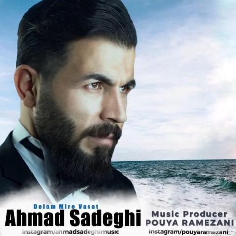 دانلود آهنگ جدید احمد صادقی دلم میره واست