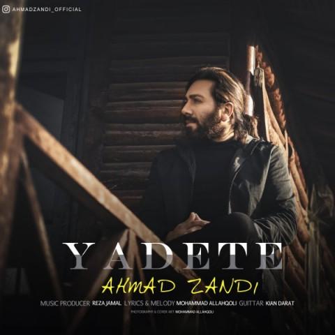 دانلود آهنگ جدید احمد زندی یادته
