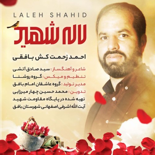 دانلود آهنگ جدید احمد زحمت کش بافقی لاله شهید